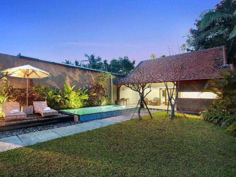 Sativa Villas Ubud Garten