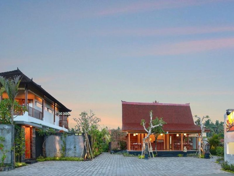 Sativa Villas Ubud Außenaufnahme
