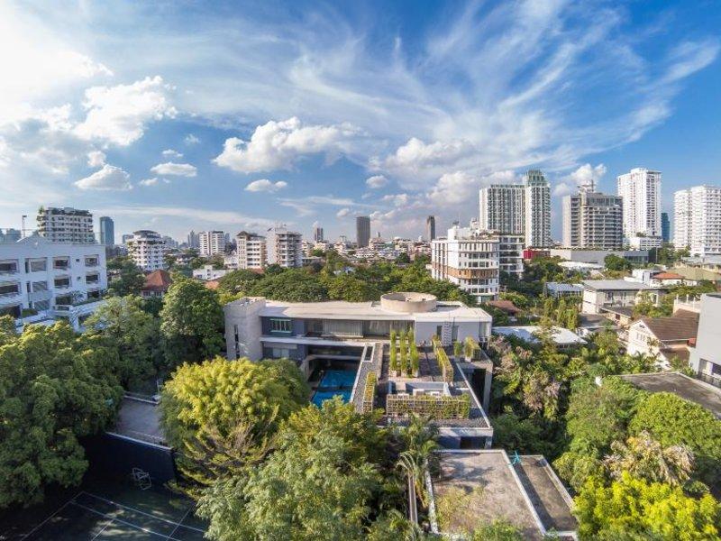 Oakwood Residence Sukhumvit Thonglor Bangkok Garten