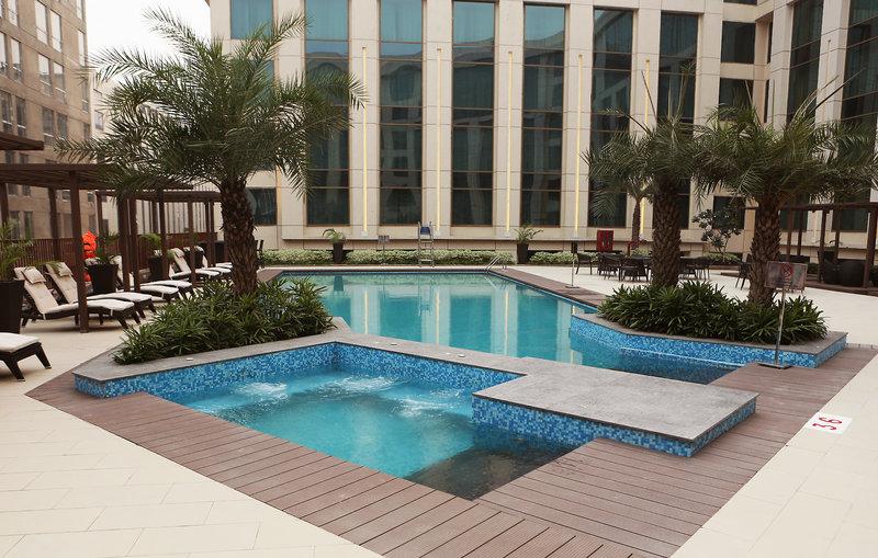 The Pride Plaza Hotel Aerocity Pool