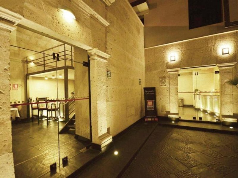 qp Hotels Arequipa Lounge/Empfang
