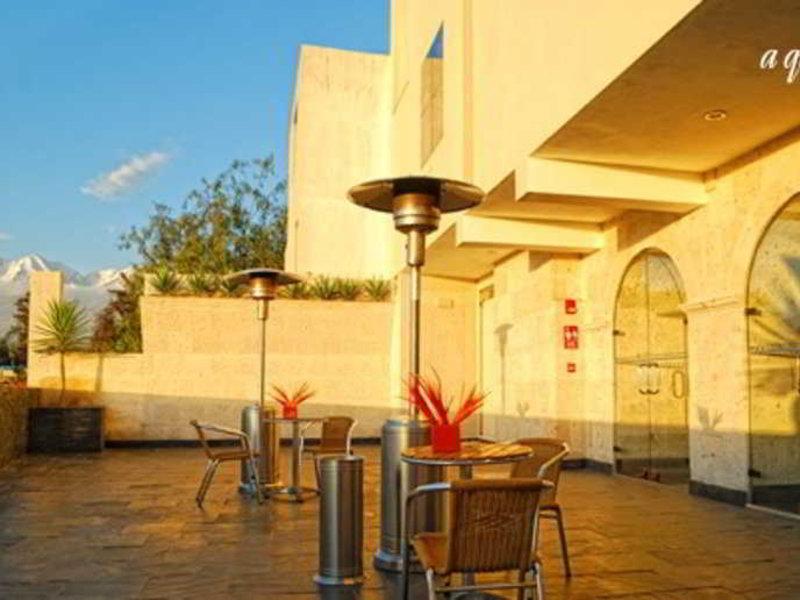 qp Hotels Arequipa Terrasse