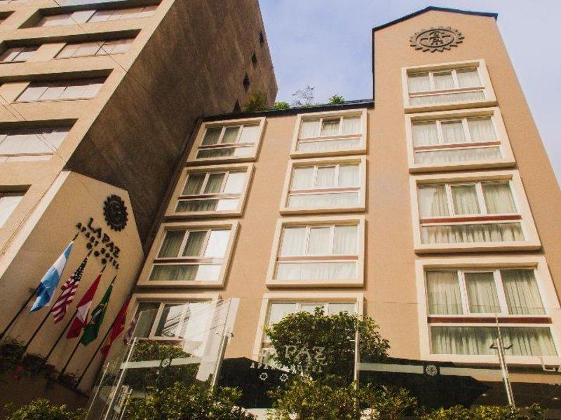 La Paz Apart Hotel Außenaufnahme