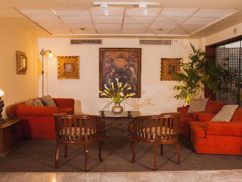 La Paz Apart Hotel Lounge/Empfang