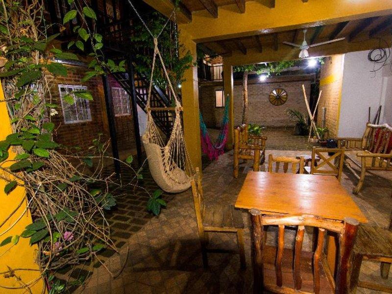 Posada Los Tajibos Terrasse