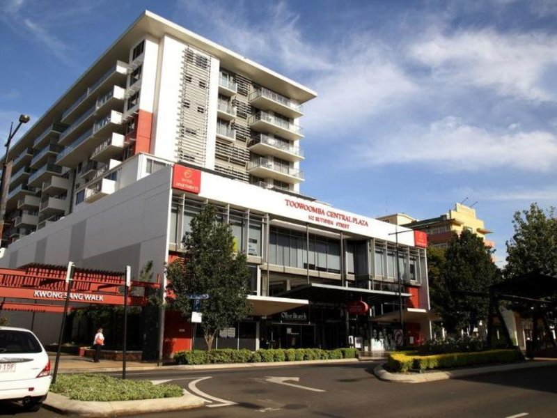 Toowoomba Central Plaza Apartment Hotel Außenaufnahme
