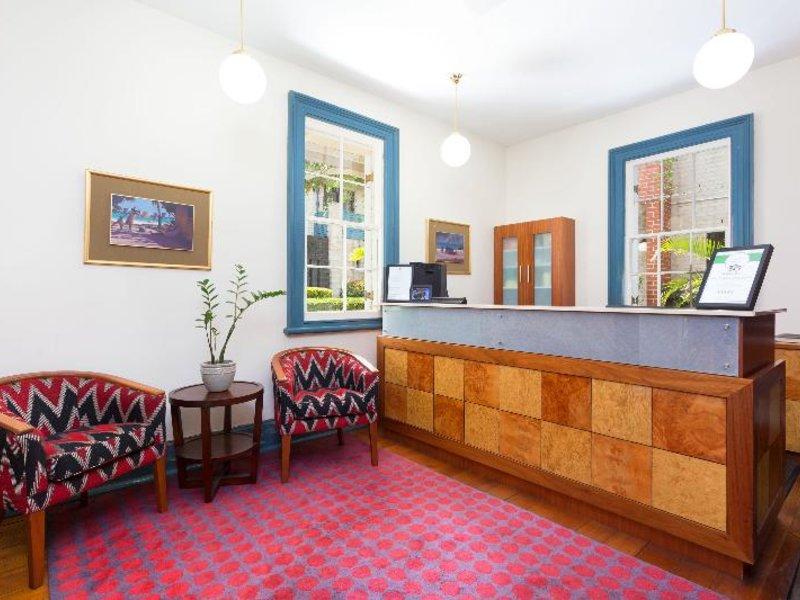 Brisbane International Windsor Lounge/Empfang