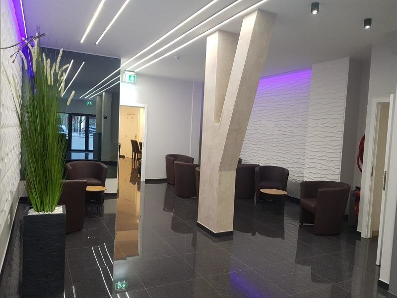 Hotel City Center  Lounge/Empfang