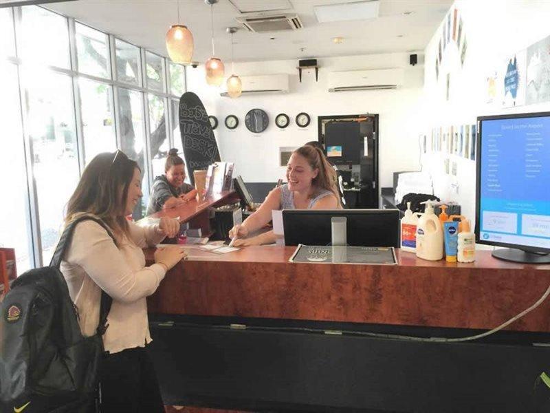 Base Brisbane Uptown Lounge/Empfang