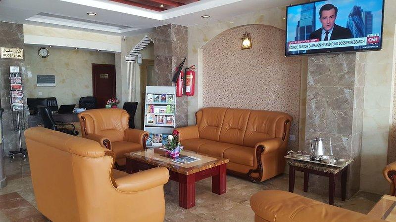 Nizwa Hotel Apartments Lounge/Empfang