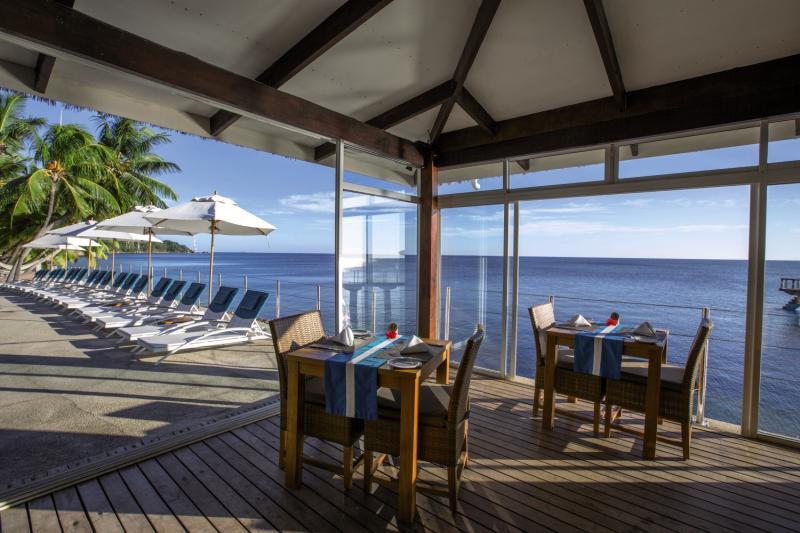 Coco de Mer Hotel & Black Parrot SuitesRestaurant