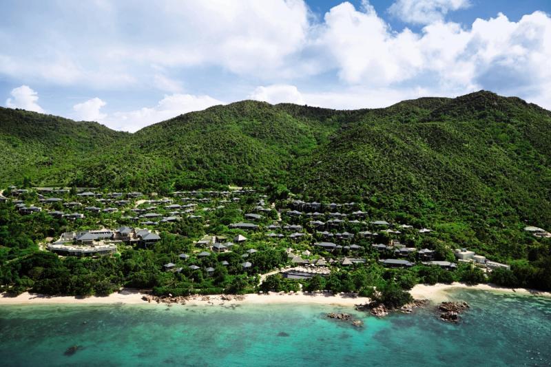 Raffles SeychellesLandschaft
