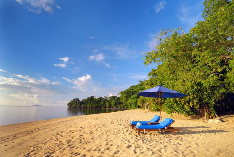 Siladen Resort & Spa Strand