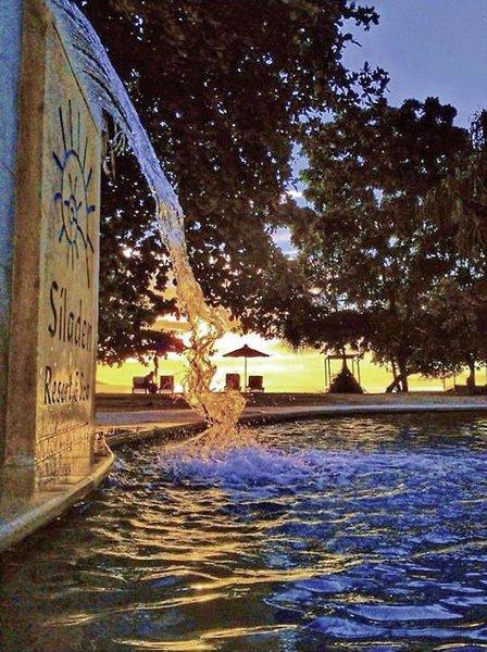 Siladen Resort & Spa Terrasse