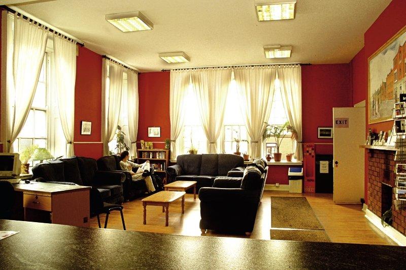 Dublin International Hostel Lounge/Empfang