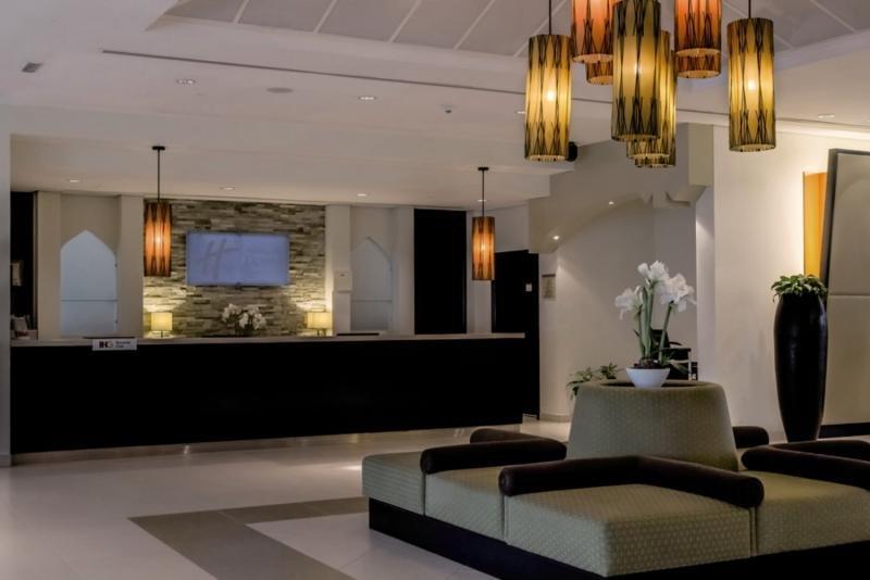 Holiday Inn Express Dubai Internet City Lounge/Empfang