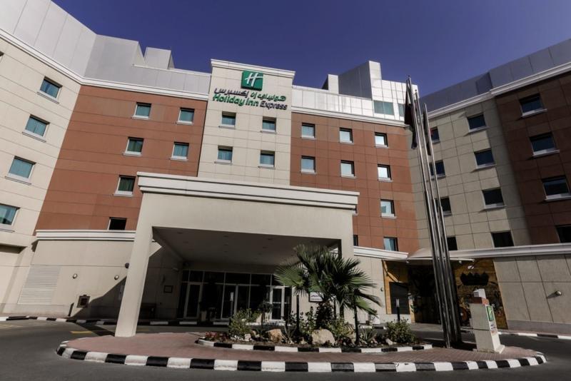 Holiday Inn Express Dubai Internet City Außenaufnahme