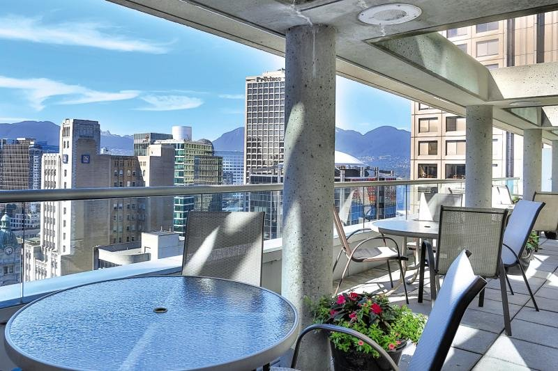 Delta Hotels by Marriott Vancouver Downtown Suites Terrasse
