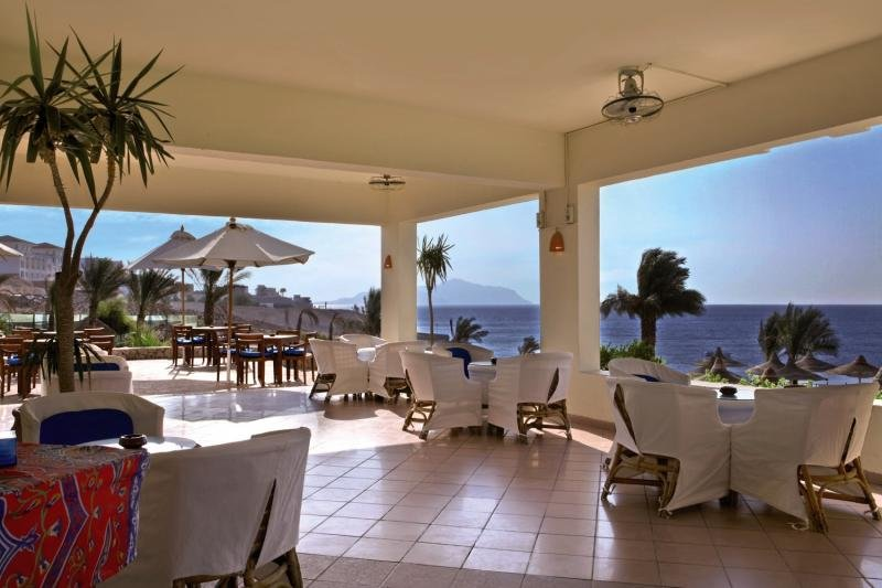 Hilton Sharks Bay Resort Terrasse