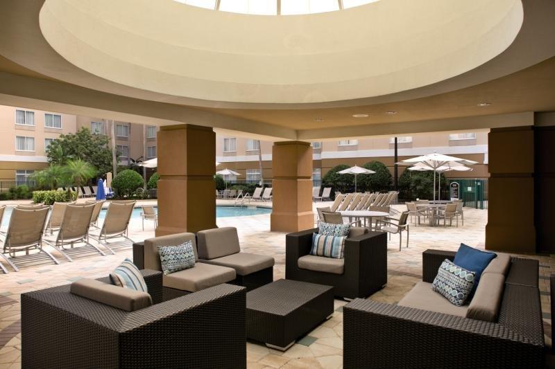 Springhill Suites Orlando Lake Buena Vista in Marriott Village Lounge/Empfang