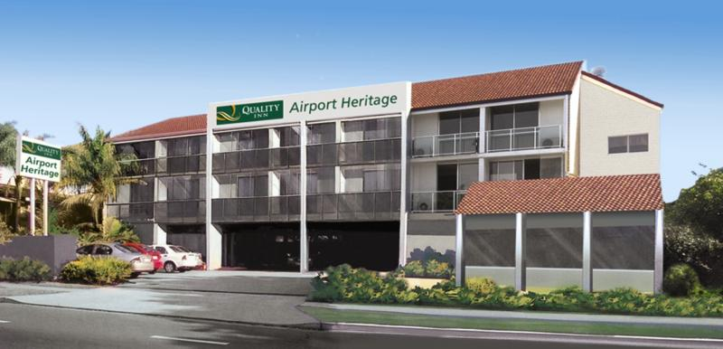 Quality Inn Airport Heritage Außenaufnahme