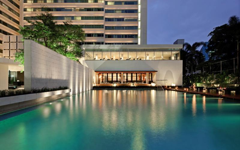 COMO Metropolitan Bangkok Außenaufnahme