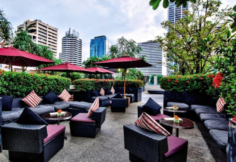 Park Plaza Sukhumvit Bangkok Soi 18 Terrasse