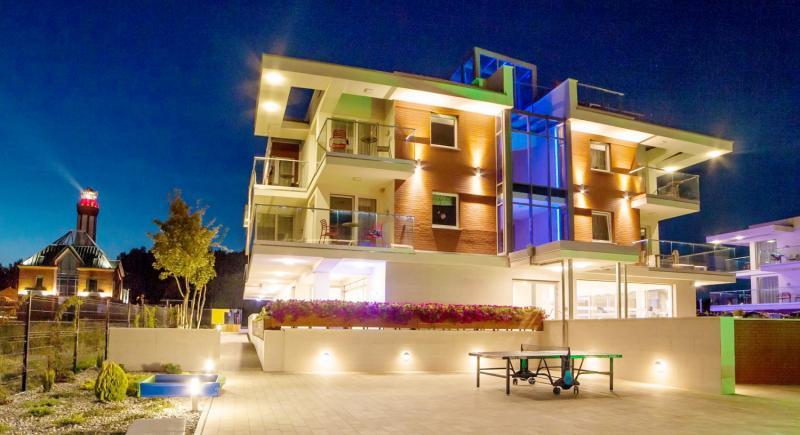 Baltic Cliff Apartments Spa & Wellness Außenaufnahme