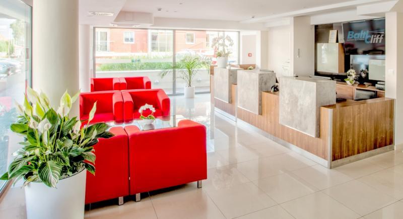 Baltic Cliff Apartments Spa & Wellness Restaurant