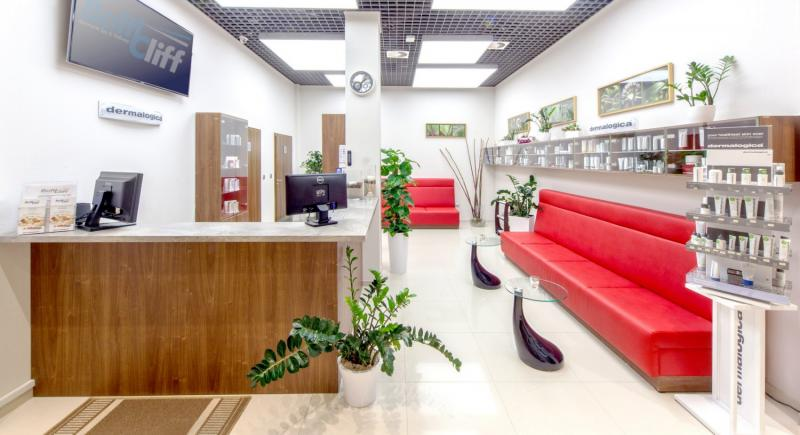 Baltic Cliff Apartments Spa & Wellness Lounge/Empfang