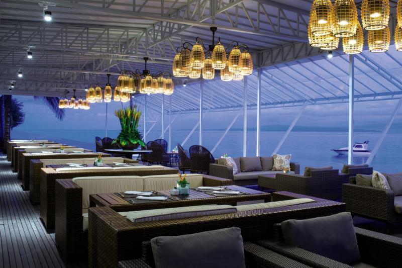 Puri Santrian a Beach Resort & Spa Restaurant