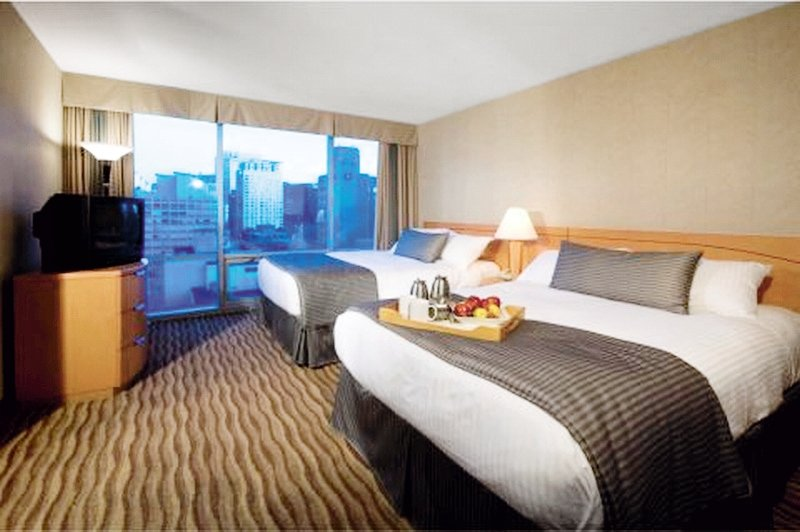 Delta Hotels by Marriott Vancouver Downtown Suites Wohnbeispiel