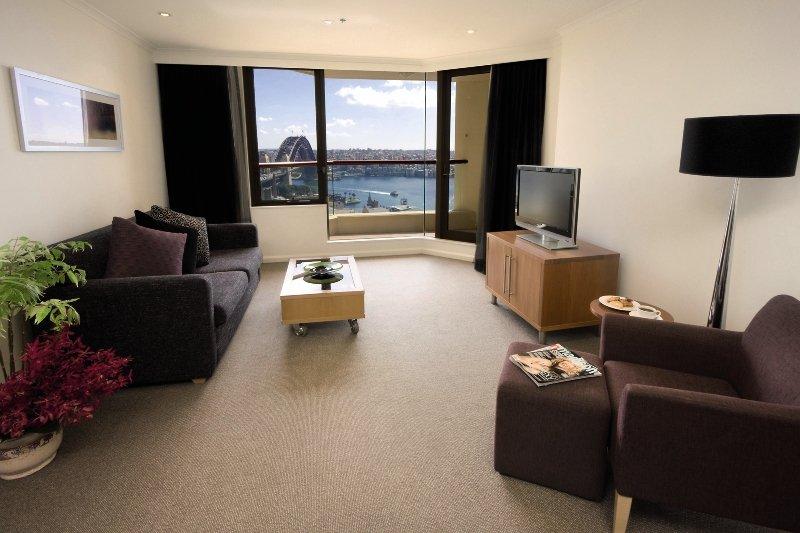 Quay West Suites Sydney Wohnbeispiel