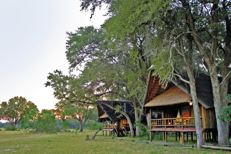 Belmond Savute Elephant Camp Außenaufnahme