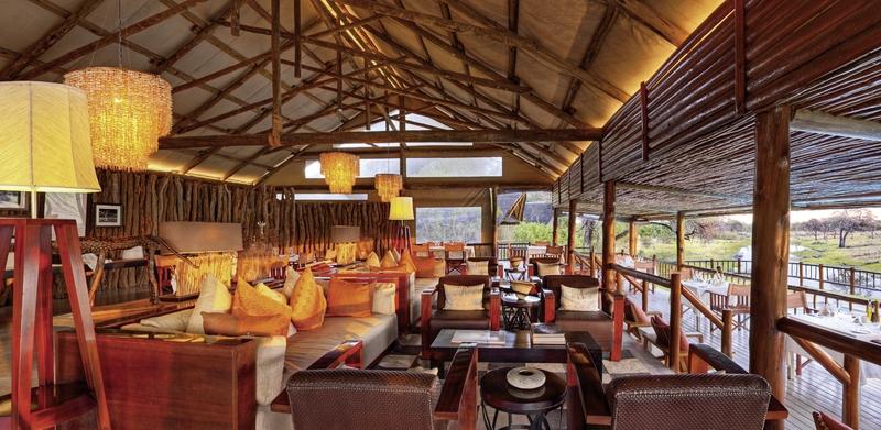Belmond Savute Elephant Camp Lounge/Empfang