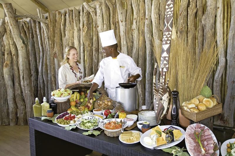 Belmond Savute Elephant Camp Restaurant