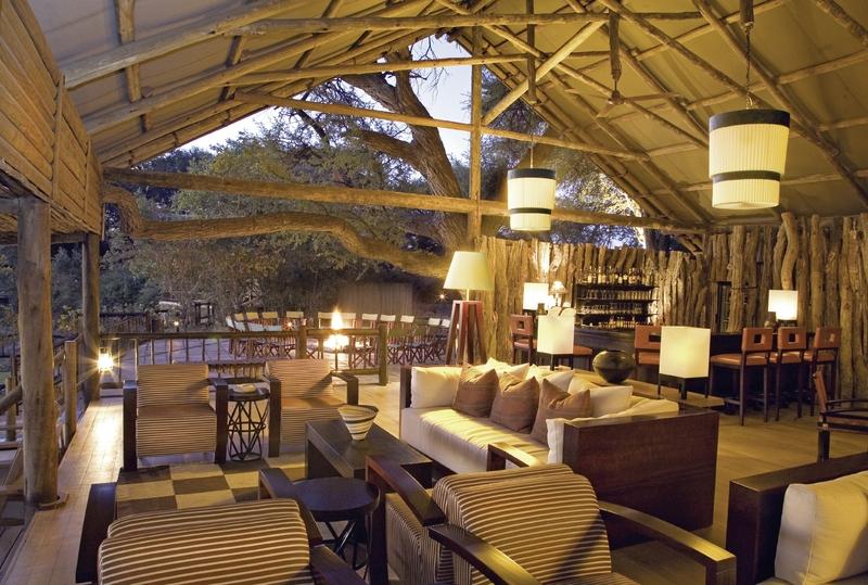 Belmond Savute Elephant Camp Terrasse