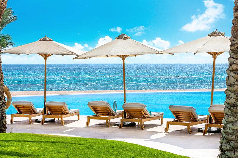 Baron Palace Resort Terrasse
