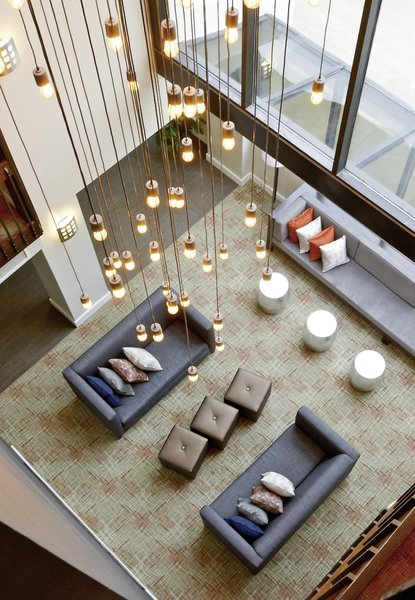 Best Western Plus Austin Central Lounge/Empfang