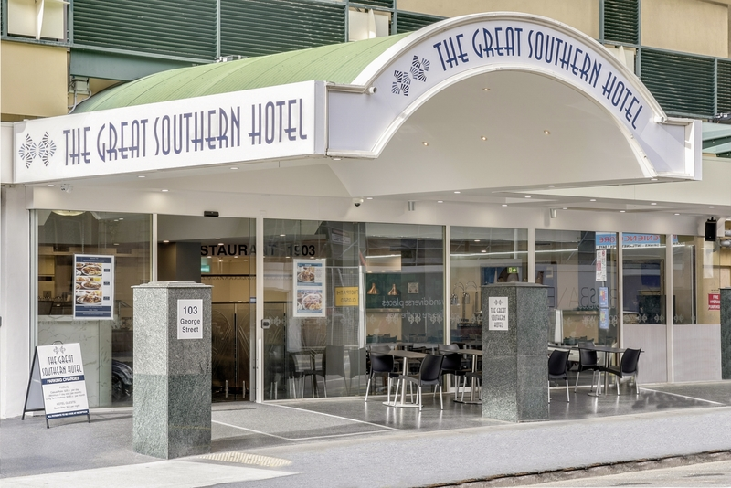 Great Southern Hotel Brisbane Außenaufnahme