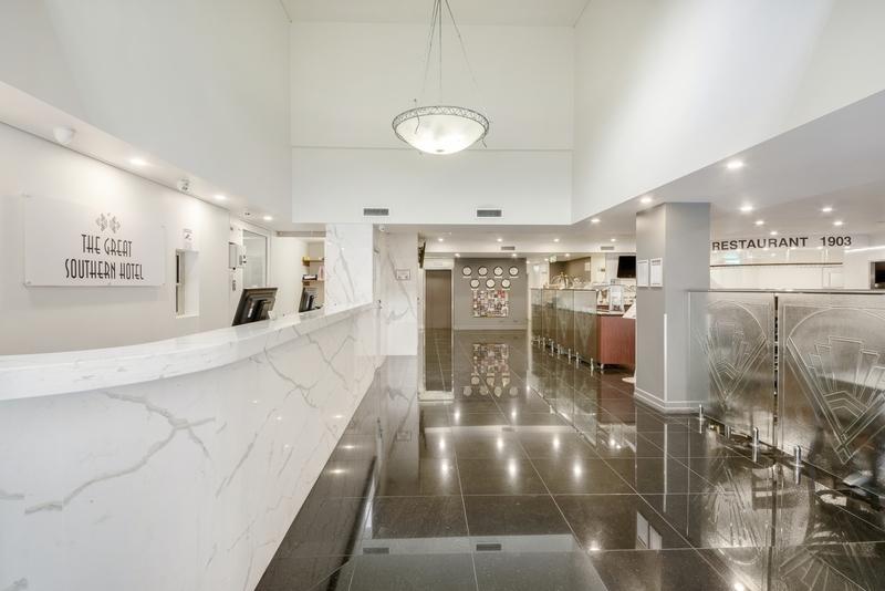 Great Southern Hotel Brisbane Lounge/Empfang