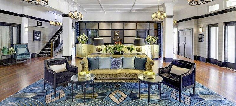 Hotel Kurrajong Canberra Lounge/Empfang
