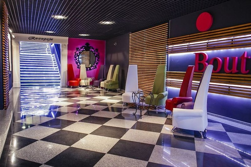 Boutique Hotel´s III Lodz Lounge/Empfang