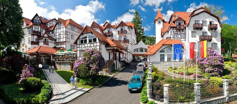 Park Hotel Kur & Spa Buczynski Außenaufnahme