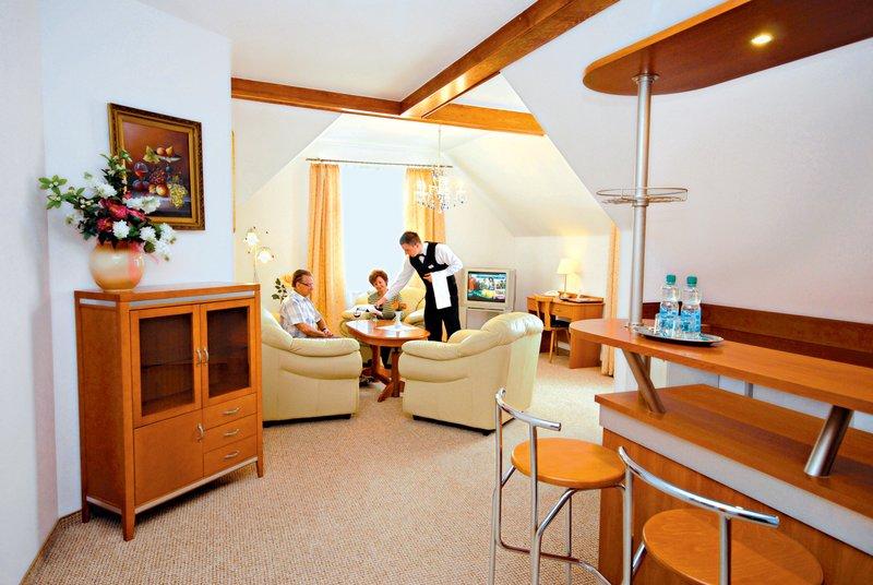 Park Hotel Kur & Spa Buczynski Lounge/Empfang