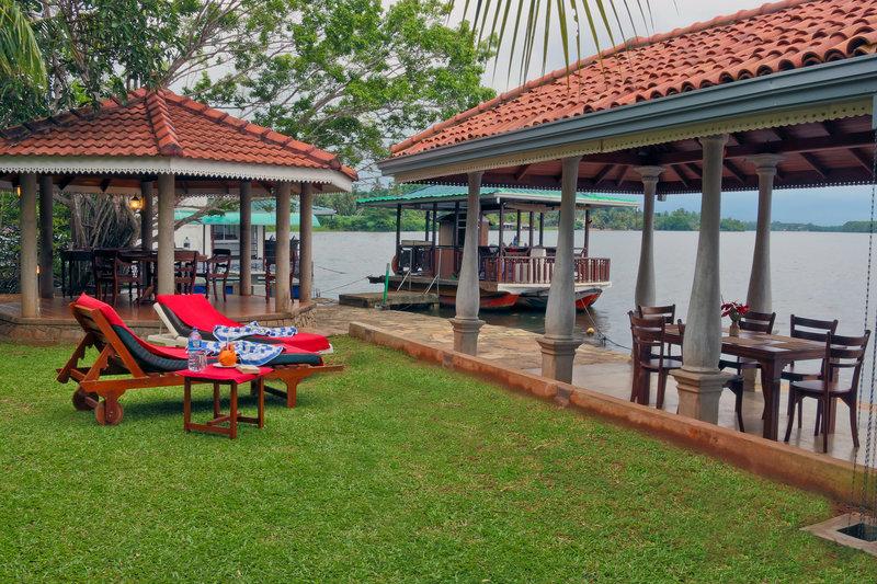 River View Villas Terrasse