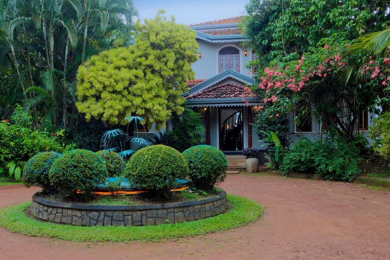 River View Villas Garten