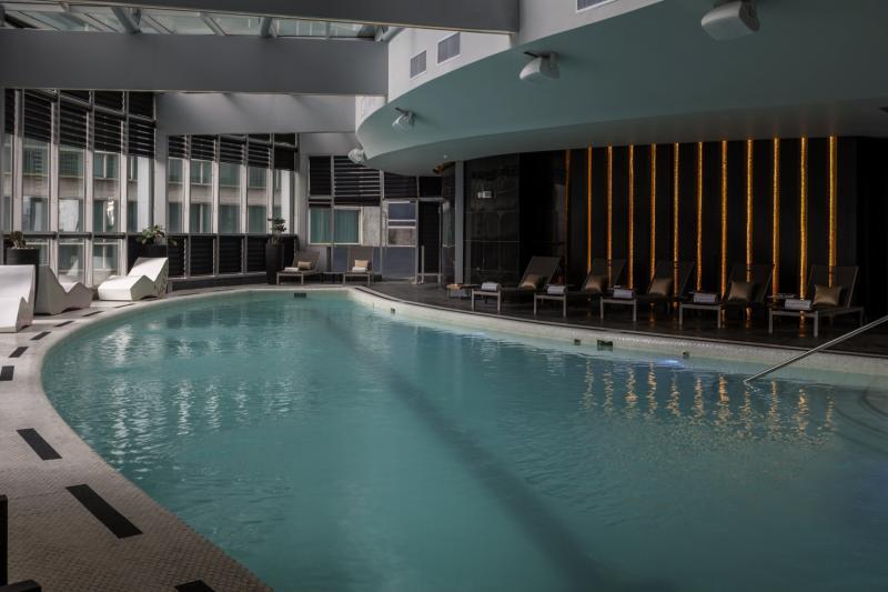 Hotel Las Americas Golden Tower Panama Hallenbad