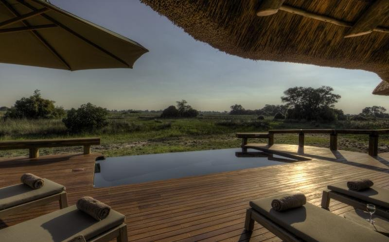 Camp Okavango Terrasse