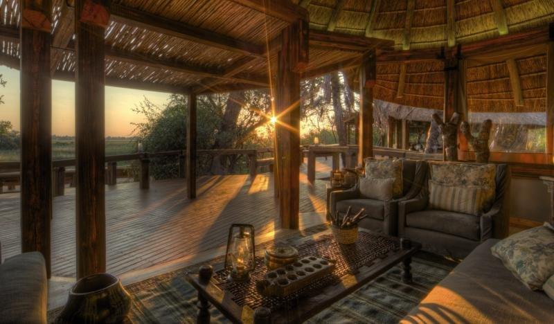 Camp Okavango Lounge/Empfang